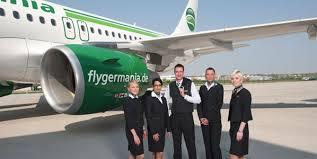 مهمانداران هواپیمایی جرمنیا آلمان Germania Airline Company