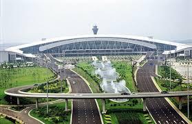 نمایی از فرودگاه بایون گوانگژو چین