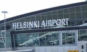 نمایی از فرودگاه هلسینکی فنلاند