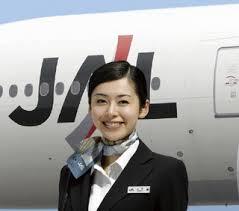 مهمانداران هواپیمایی ژاپن ایرلاینز Japan Airlines Company JAL