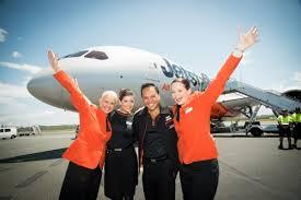 مهمانداران هواپیمایی جت استار ایرویز استرالیا Jetstar Airways