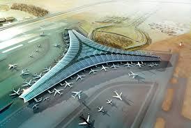 نمایی از فرودگاه کویت