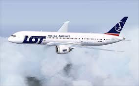هواپیما هواپیمایی لوت لهستان LOT Polish Airlines