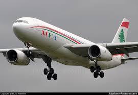 هواپیما هواپیمایی خاورمیانه لبنان Middle East Airlines
