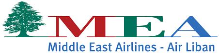 نشان هواپیمایی خاورمیانه لبنان Middle East Airlines