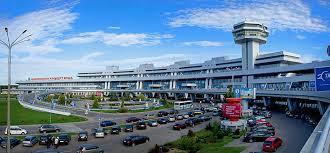 نمایی از فرودگاه مینسک بلاروس