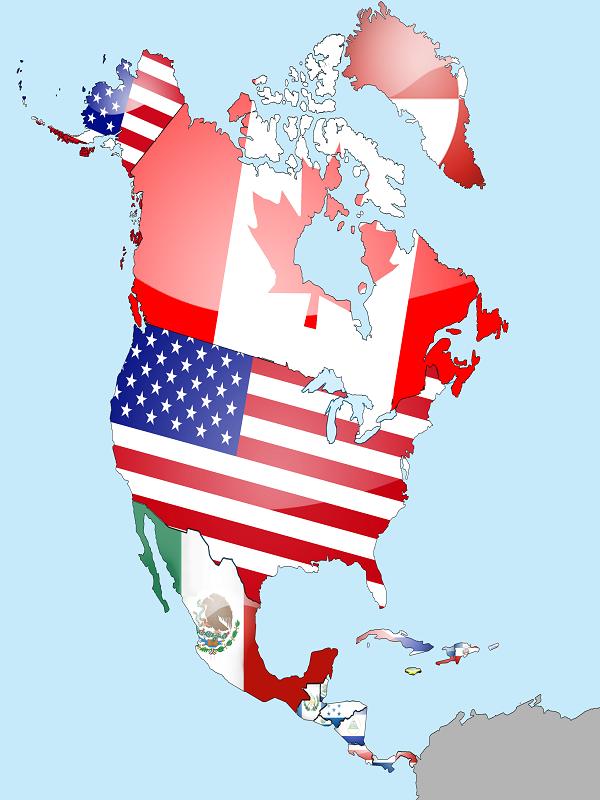 رزرو و خرید بلیط هواپیما به تمام کشورهای قاره آمریکای شمالی