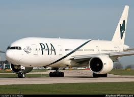 هواپیما هواپیمایی بینالمللی پاکستان Pakistan International Airlines