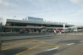 نمایی از فرودگاه پراگ