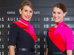 مهمانداران هواپیمایی کانتاس استرالیا Qantas Airline