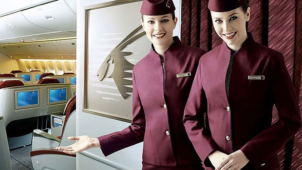 مهمانداران هواپیمایی قطر ایرویز Qatar Airways Company