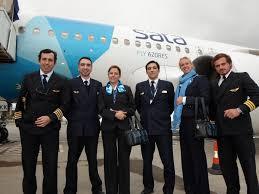 مهمانداران هواپیمایی ساتا اینترنشنال پرتغال SATA International