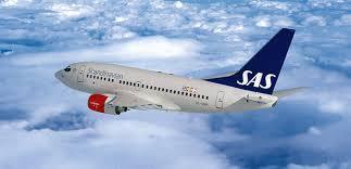 هواپیما هواپیمایی اسکاندیناوی اس ای اس Scandinavian Airlines