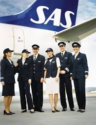 مهمانداران هواپیمایی اسکاندیناوی اس ای اس Scandinavian Airlines
