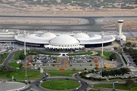 نمایی ار فرودگاه شارجه امارات