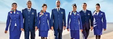 مهمانداران هواپیمایی آفریقای جنوبی South African Airways