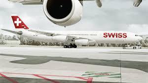 هواپیما هواپیمایی سوئیس اینترنشنال ایرلاینز Swiss International Air Lines