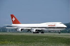 هواپیما هواپیمایی سوئیس ایر سوئیس Swissair Airlines