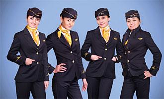 مهمانداران هواپیمایی تاجیک ایر تاجیکستان Tajik Air Airlines