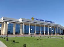نمایی از فرودگاه تاشکند ازبکستان