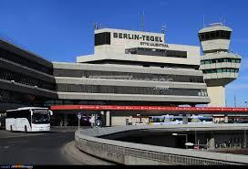 نمایی از فرودگاه تگل برلین