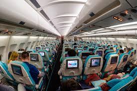 قسمت اکونومی هواپیمایی ترکیش ترکیه Turkish Airlines Company