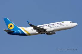 هواپیما هواپیمایی اوکراین اینترنشنال Ukraine International Airlines