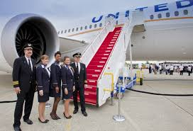 مهمانداران هواپیمایی یونایتد آمریکا United Airlines