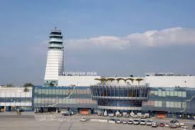 نمایی از فرودگاه وین اتریش