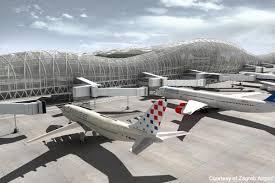 نمایی از فرودگاه زاگرب کرواسی