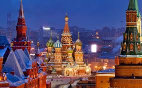 نمایی از شهر مسکو روسیه