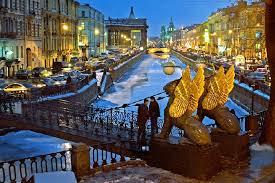 نمایی از شهر سنت پترزبورگ