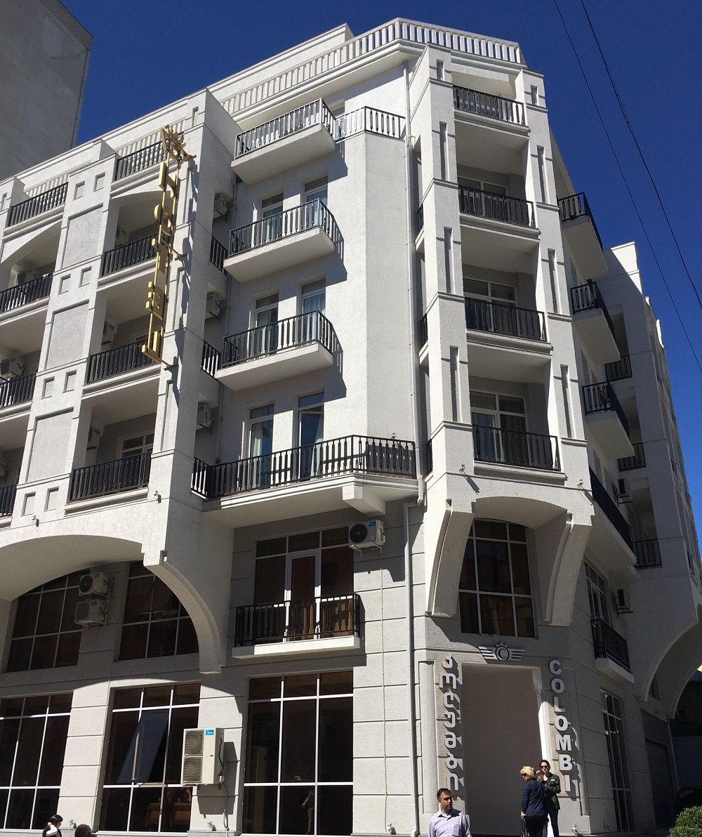 هتل کلمبی تفلیس Colombi hotel- رزرو صوری هتل 4 ستاره در تفلیس