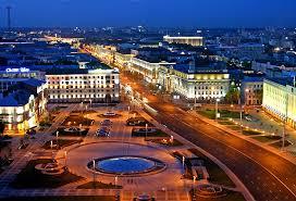 نمایی از شهر مینسک