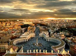 نمایی از شهر رم