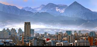 نمایی از شهر آلماتی