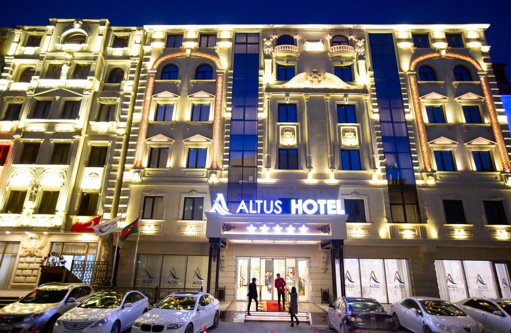 هتل آلتوس باکو Altus Hotel- بهترین هتل 5 ستاره باکو