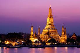 نمایی از شهر بانکوک تایلند