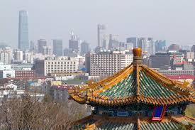 نمایی از شهر پکن