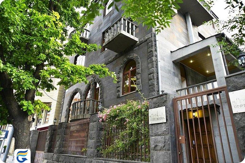 بهترین هتل های 3 ستاره در ارمنستان