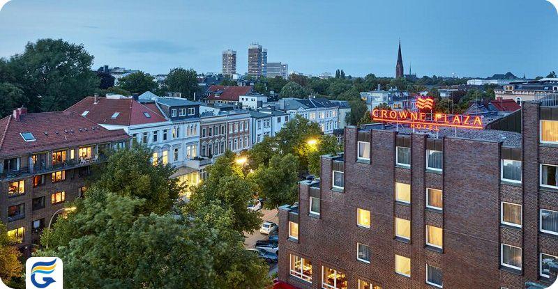 هتل کرون پلازا هامبورگ - هتل های مرکز شهر و نزدیک فرودگاه هامبورگ