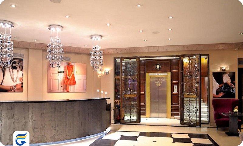 هتل ادوارد هفت پاریس - قیمت هتل آپارتمان در پاریس