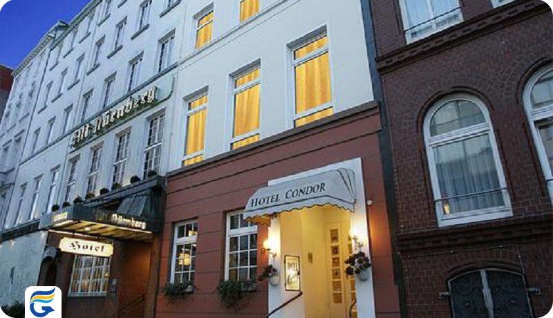 هتل کوندور هامبورگ - لیست قیمت هتل های هامبورگ