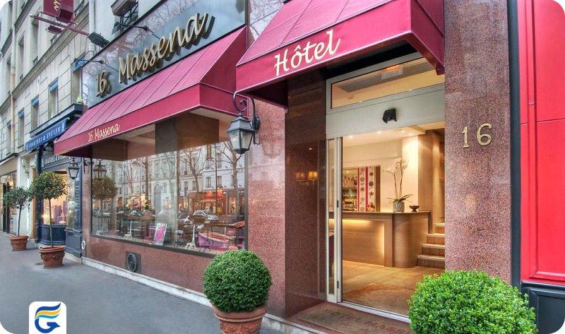 هتل ماسنا پاریس - بهترین هتل های 3 ستاره پاریس