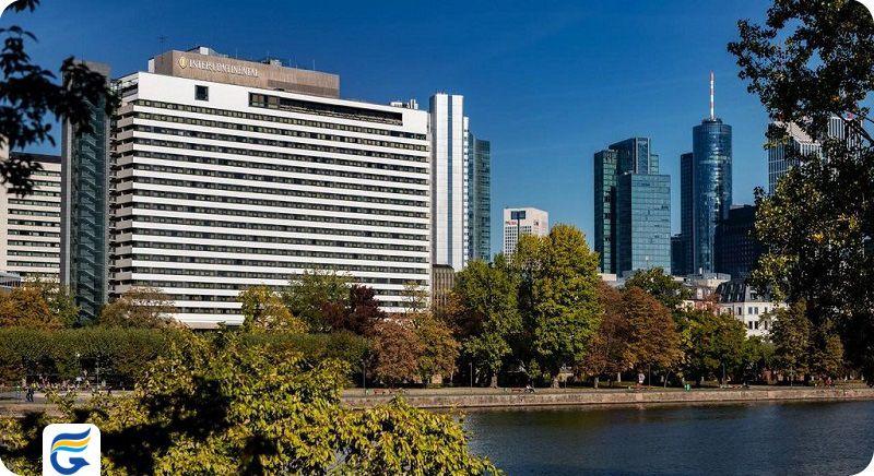 هتل اینترکونتینتال فرانکفورت - رزرو هتل های ارزان قیمت در فرانکفورت
