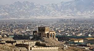 نمایی از شهر کابل افغانستان