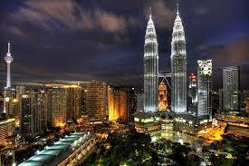 نمایی از شهر کوالالامپور مالزی