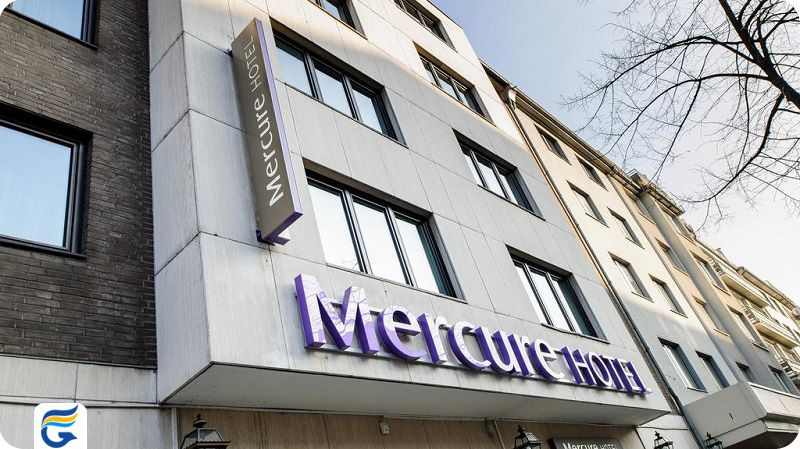 هتل مرکیور زنترام دوسلدورف - لیست قیمت هتل های 3 ستاره دوسلدورف