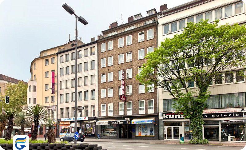 هتل نووم پلازا دوسلدورف - هتل های مرکز شهر و نزدیک فرودگاه دوسلدورف