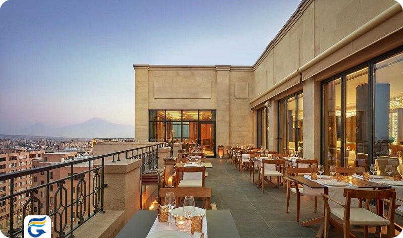نردیکترین هتل به سفارت آمریکا در ایروان